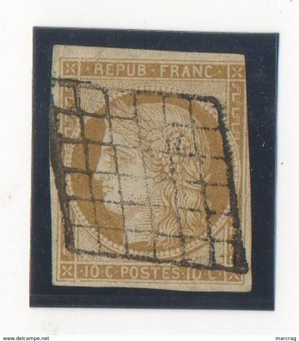 N°1pas D'AMINCIE UNE MARGE COURTE - 1849-1850 Ceres
