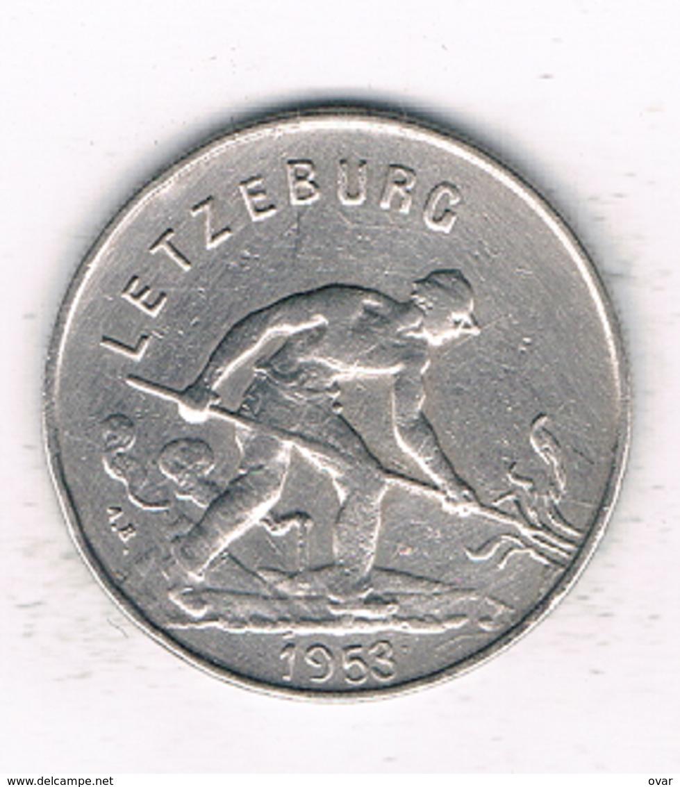 1 FRANC  1953 LUXEMBURG /1385/ - Luxembourg