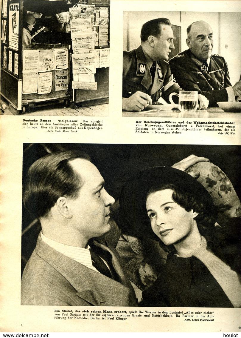 Die Woche N°7 ; Vom 12. Februar 1941  Gebundene Wochenzeitschrift Aus Der Kriegszeit - Zeitungen & Zeitschriften