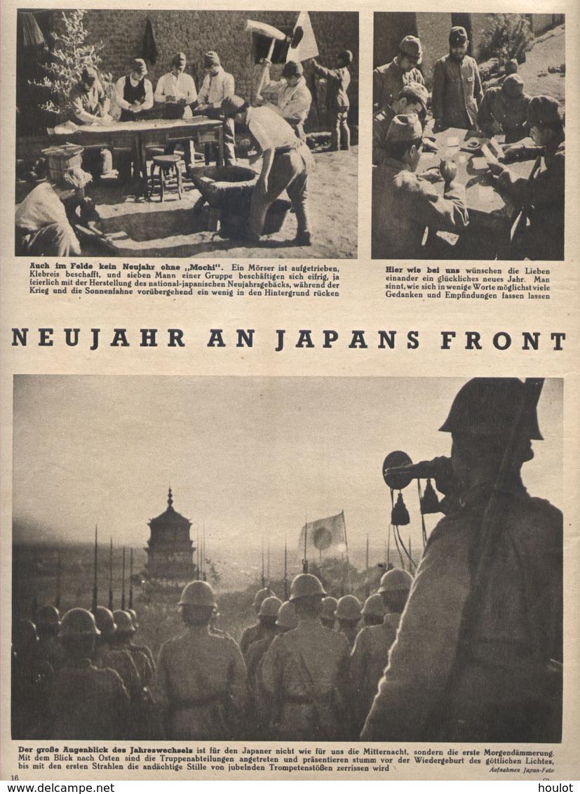 Die Woche N°7 ; Vom 12. Februar 1941  Gebundene Wochenzeitschrift Aus Der Kriegszeit - Deutsch