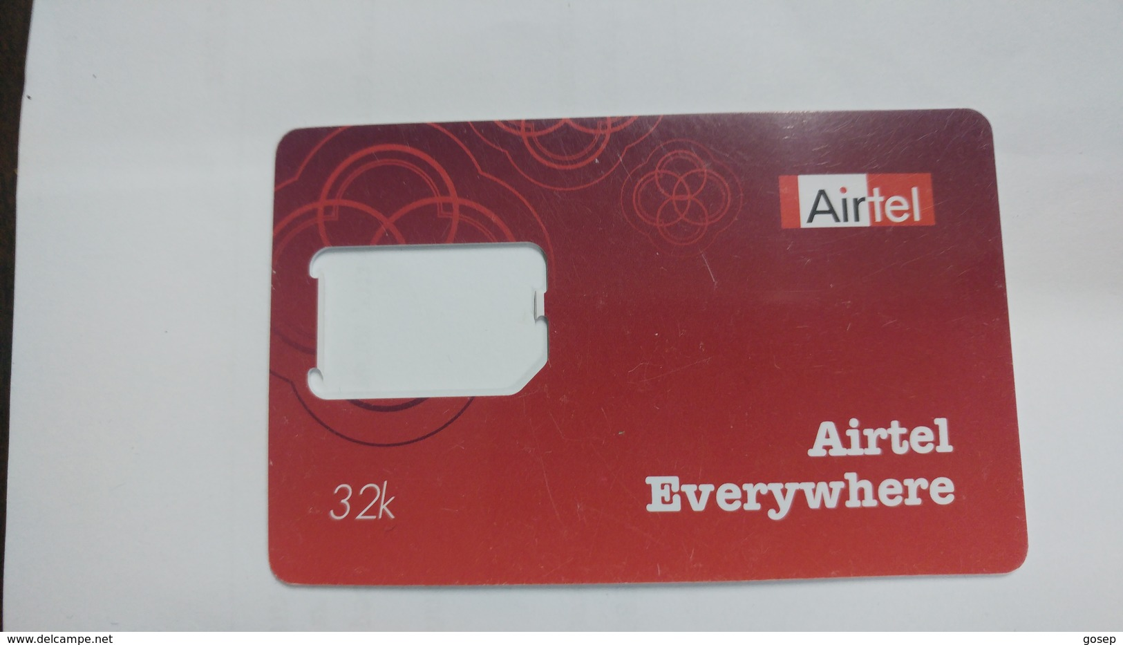 India-air Tel G.s.m Card-(51f)-()-(new Delhi)-()-(look Out Side)-used Card+1 Card Prepiad Free - India