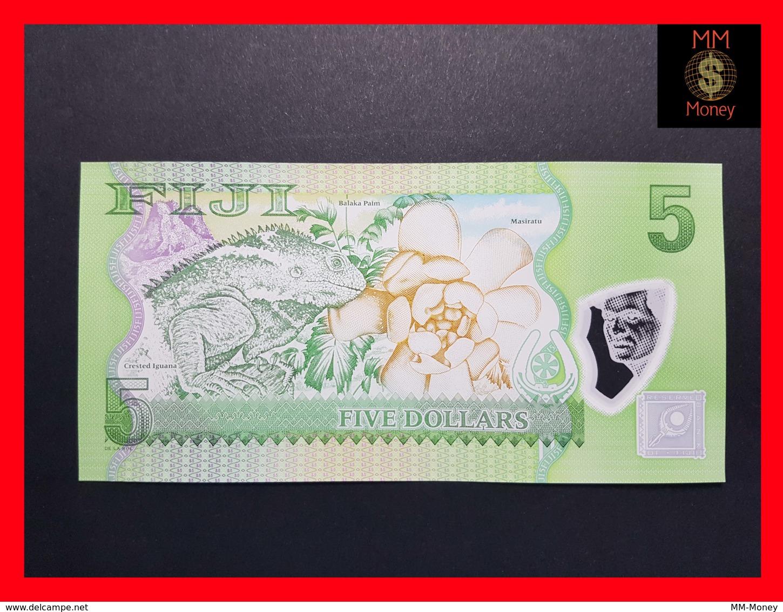 FIJI 5 Dollars 2012  P. 115  POLYMER  UNC - Fidji