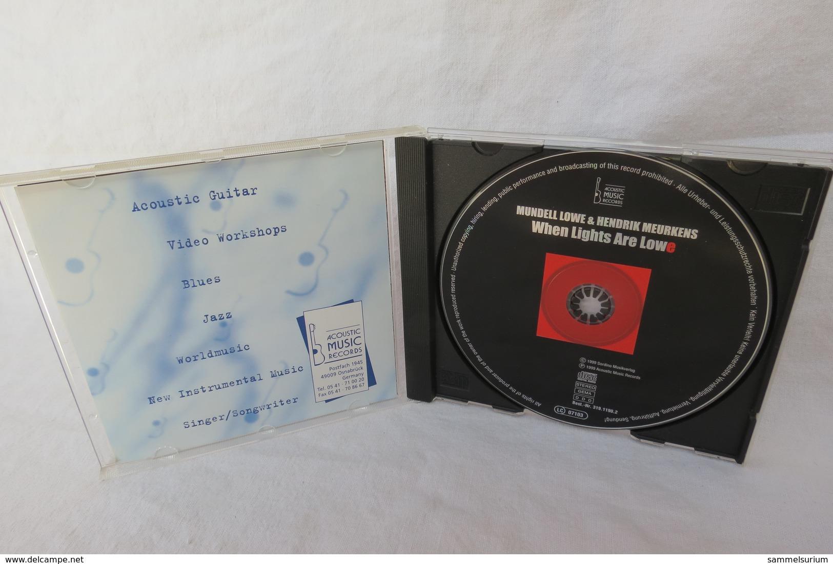 "CD ""Mundell Lowe & Hendrik Meurkens"" When Lighta Are Lowe - Musik & Instrumente"
