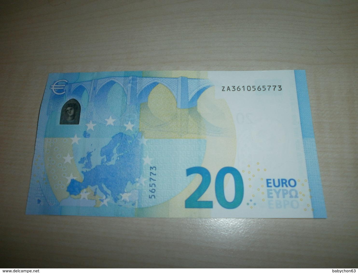 20 EUROS (Z Z001 G3) - EURO