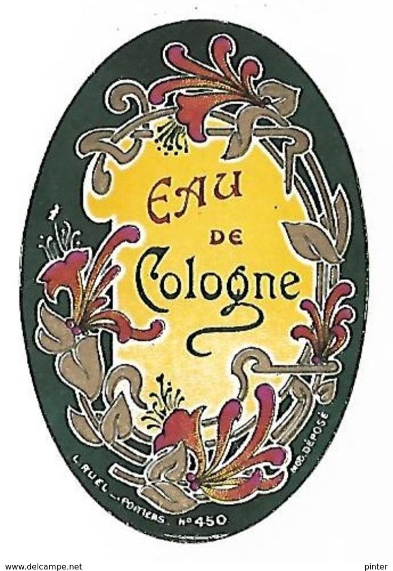 EAU DE COLOGNE - Werbepostkarten
