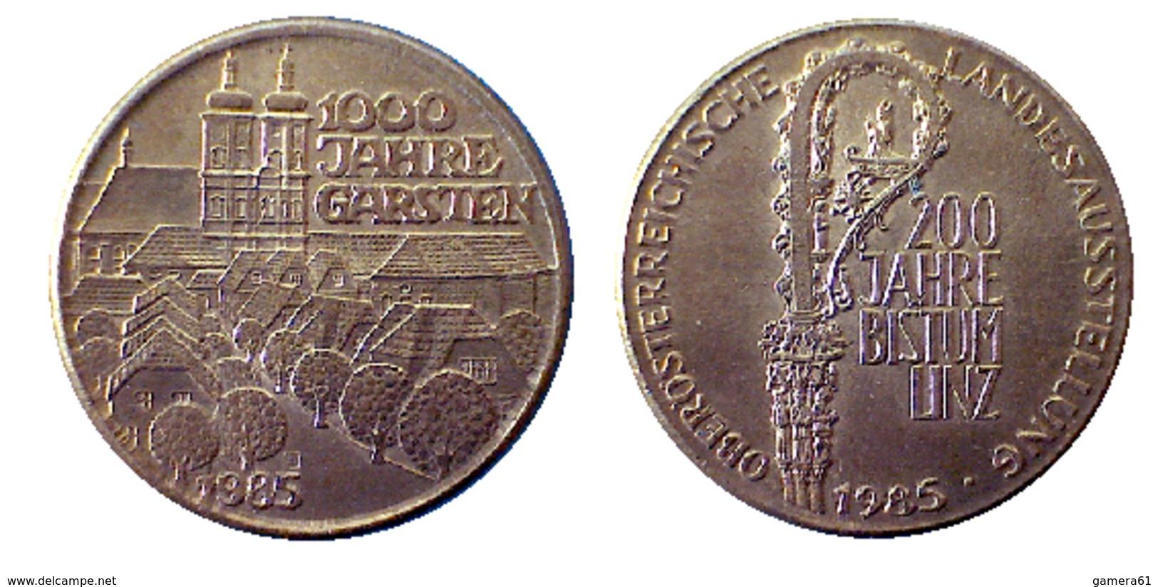 03709 GETTONE TOKEN JETON FICHA MUNICIPAL COMMEMORATIVE 1000 JAHRE GARSTEN - Allemagne