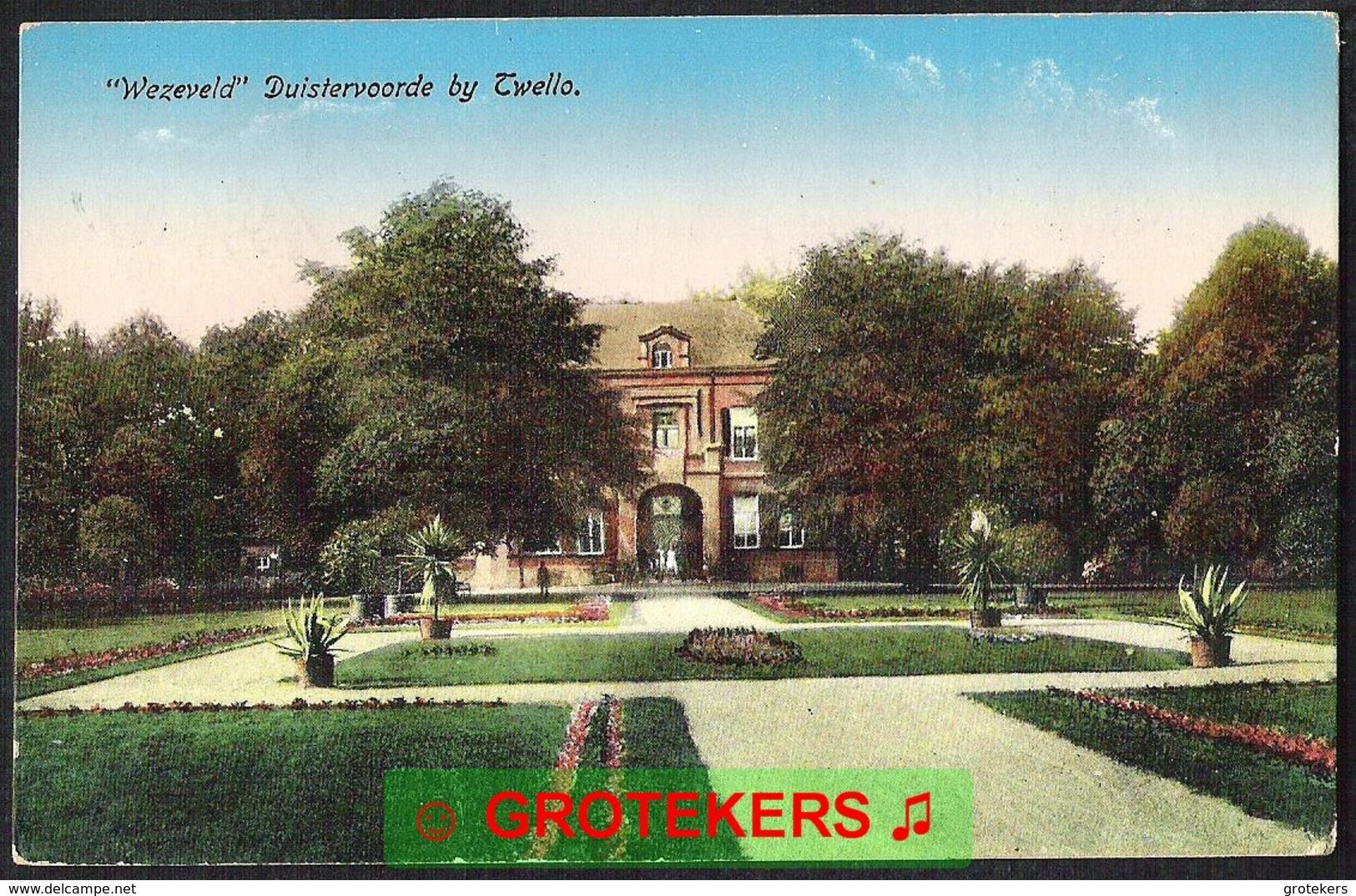 TWELLO / DUISTERVOORDE Buiten Wezeveld 1919 - Pays-Bas