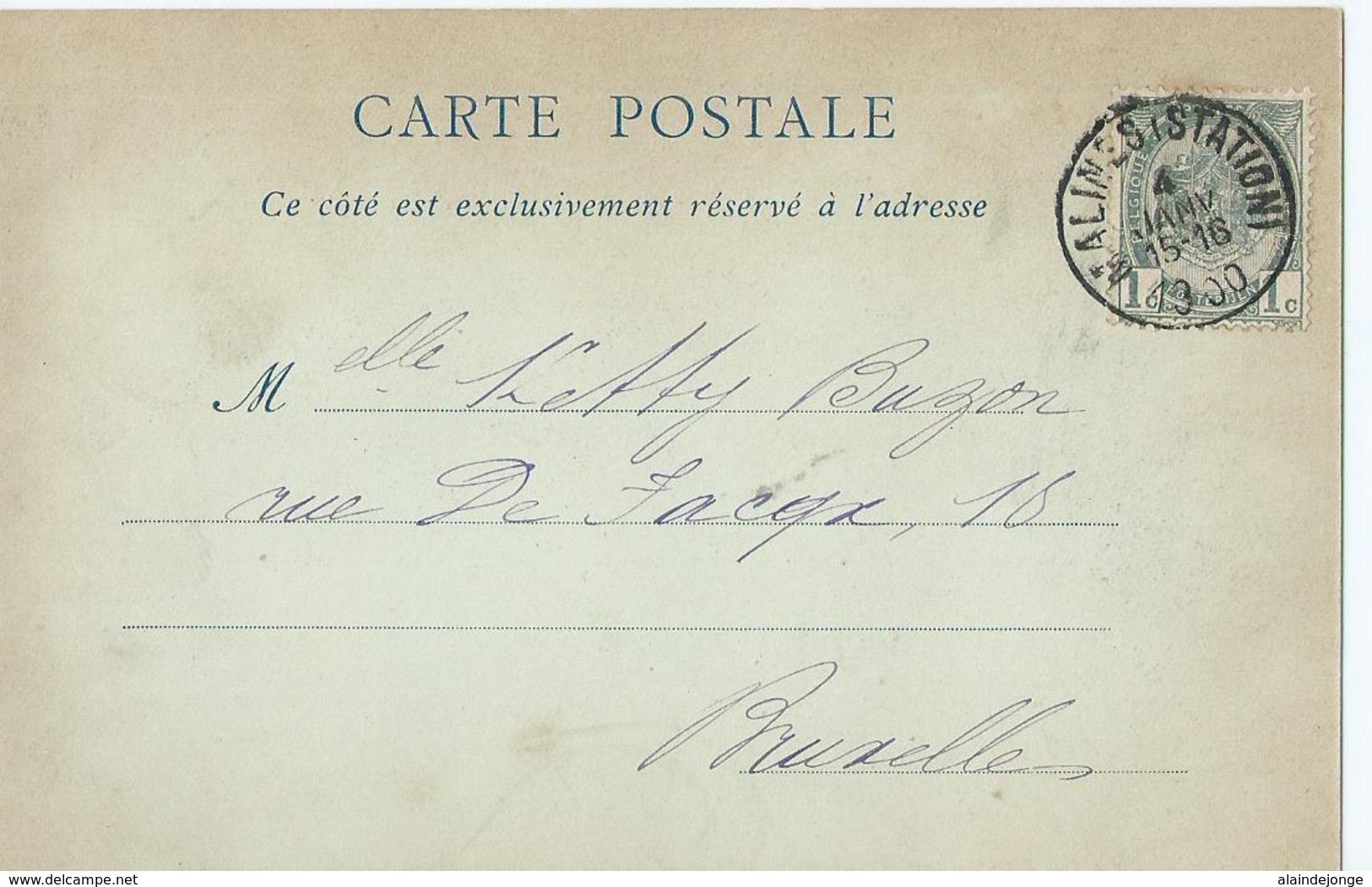 Mechelen - Malines - 3 - La Cathédrale St-Rombaut - ND Phot. - 1900 - Malines