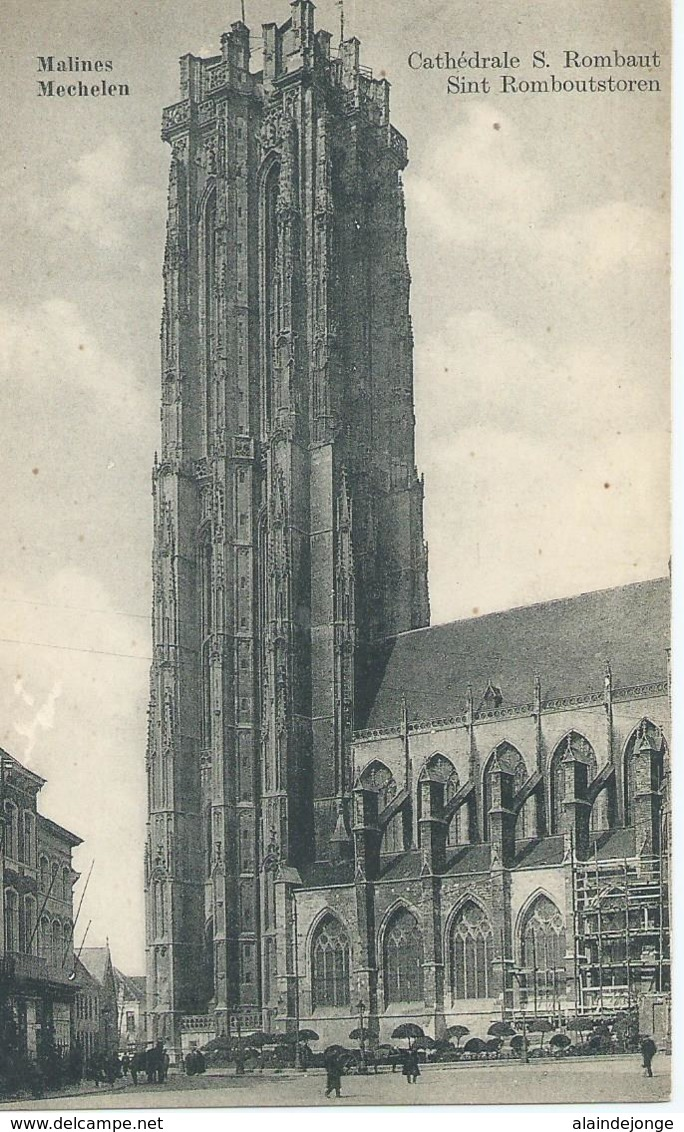 Mechelen - Malines - Cathédrale S. Rombaut - Sint Romboutstoren - Malines