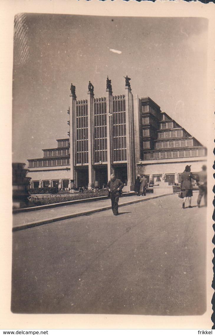 Foto Photo (6 X 9 Cm) Brussel Bruxelles Eeuwfeestpaleizen Heizel - Expositions Universelles