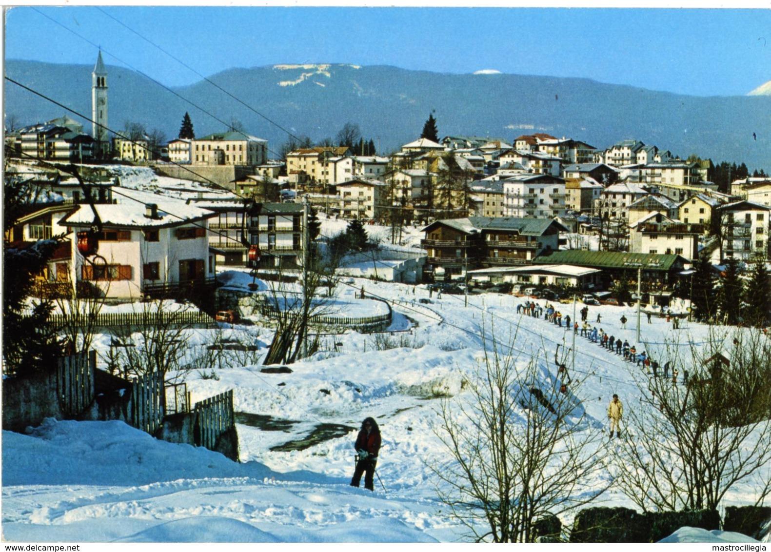 CESUNA  ROANA  VICENZA  Invernale  Skilift  Sci Ski - Vicenza