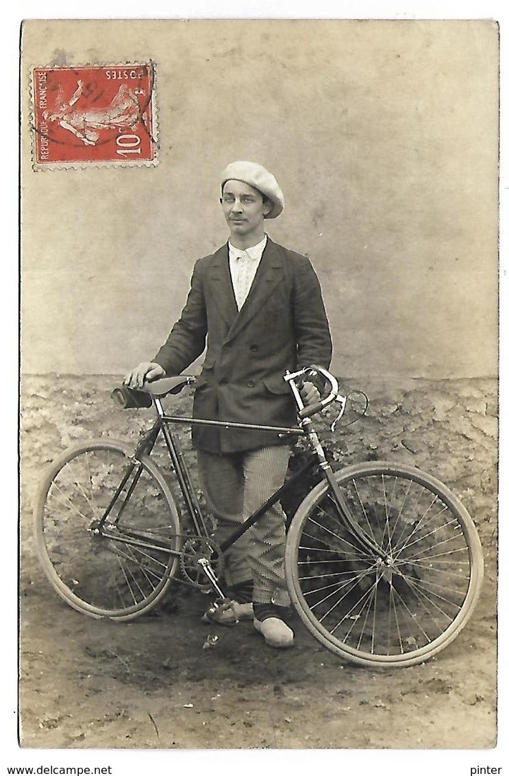BICYCLETTE - VELO - CARTE PHOTO - Cyclisme