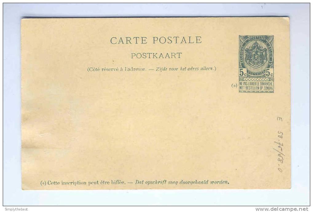Carte Postale Illustrée No 1 Exposition Universelle De Bruxelles 1897 - Etat NEUF   -- HH/506 - Cartes Illustrées