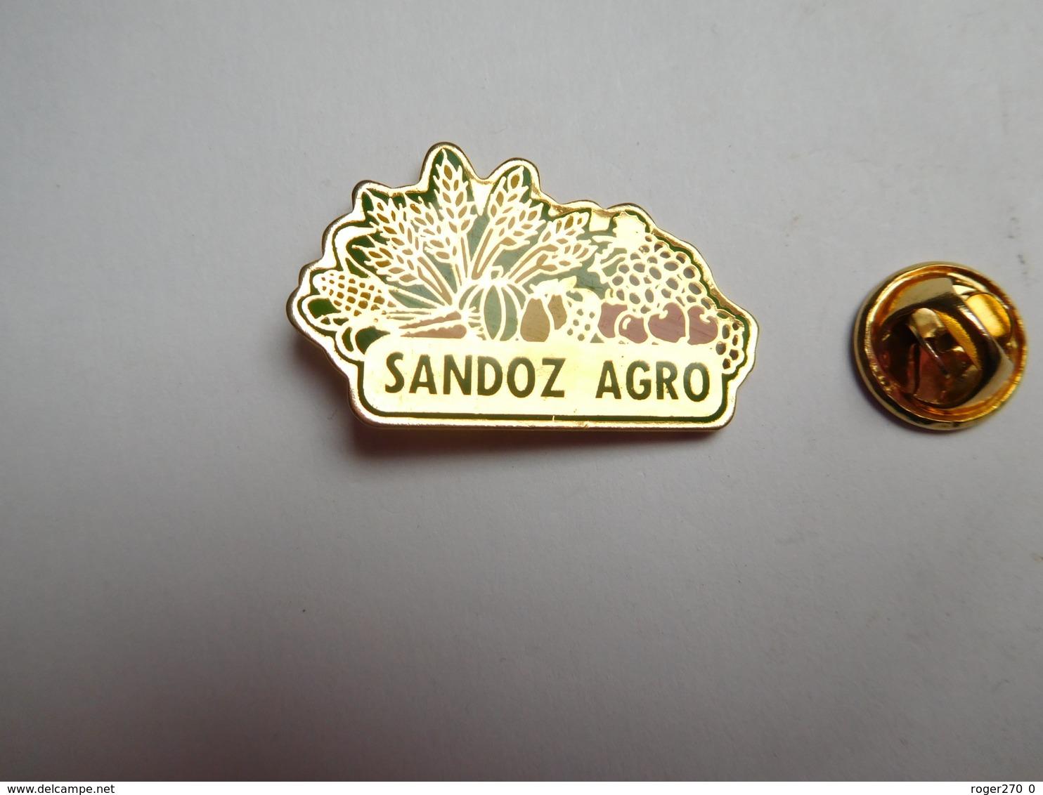 Beau Pin's , Laboratoires Sandoz Agro , Agriculture , Nature - Pin's