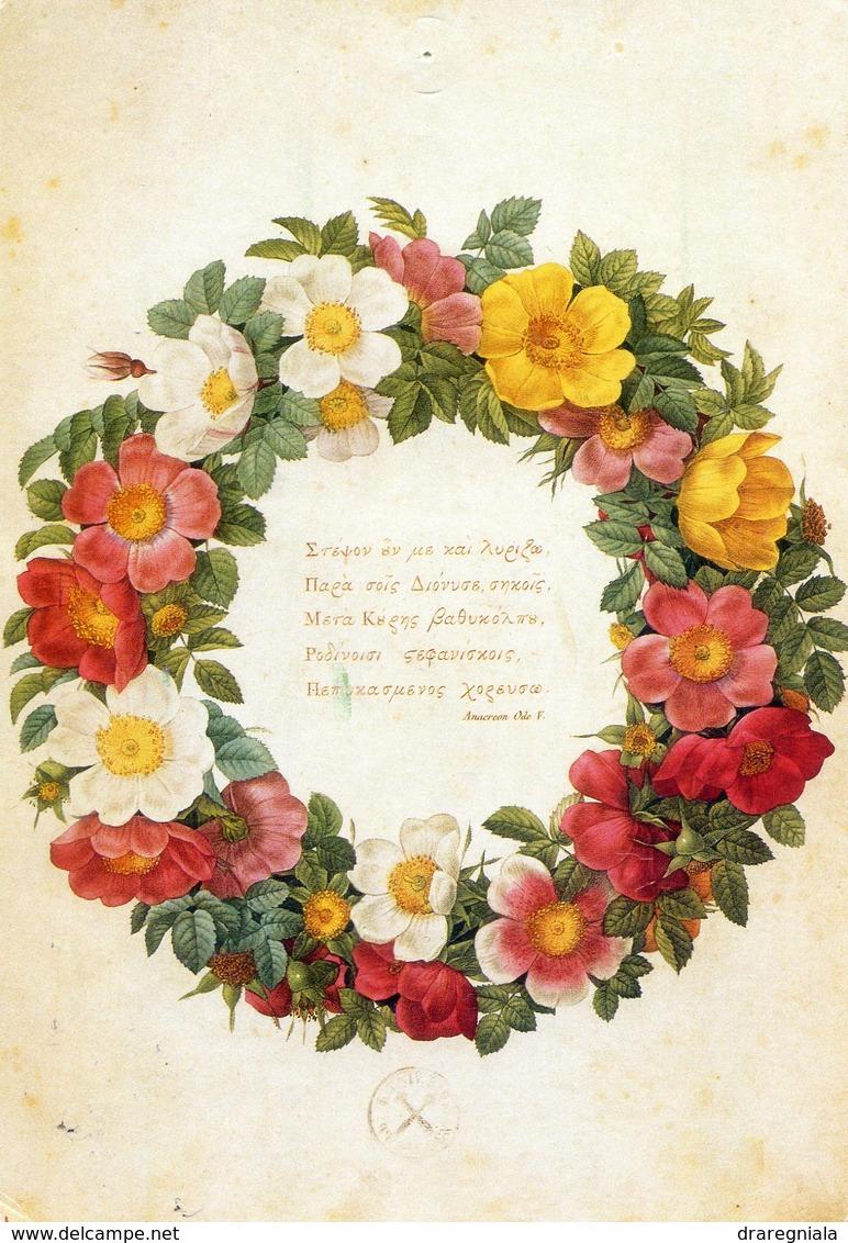 Rose  Wreath - Pierre Joseph Redouté - Fleurs