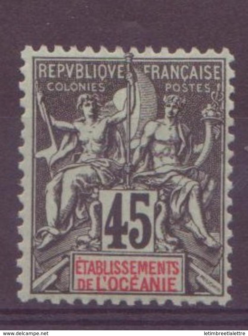 Océanie N° 19** - Océanie (Établissement De L') (1892-1958)