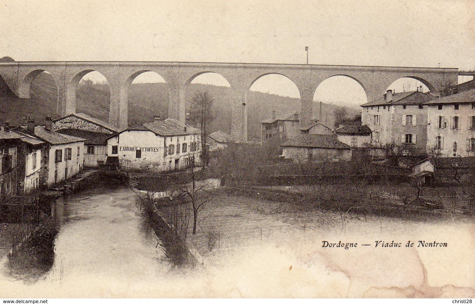 DPT 24 Dordogne Viaduc De Nontron - Non Classés