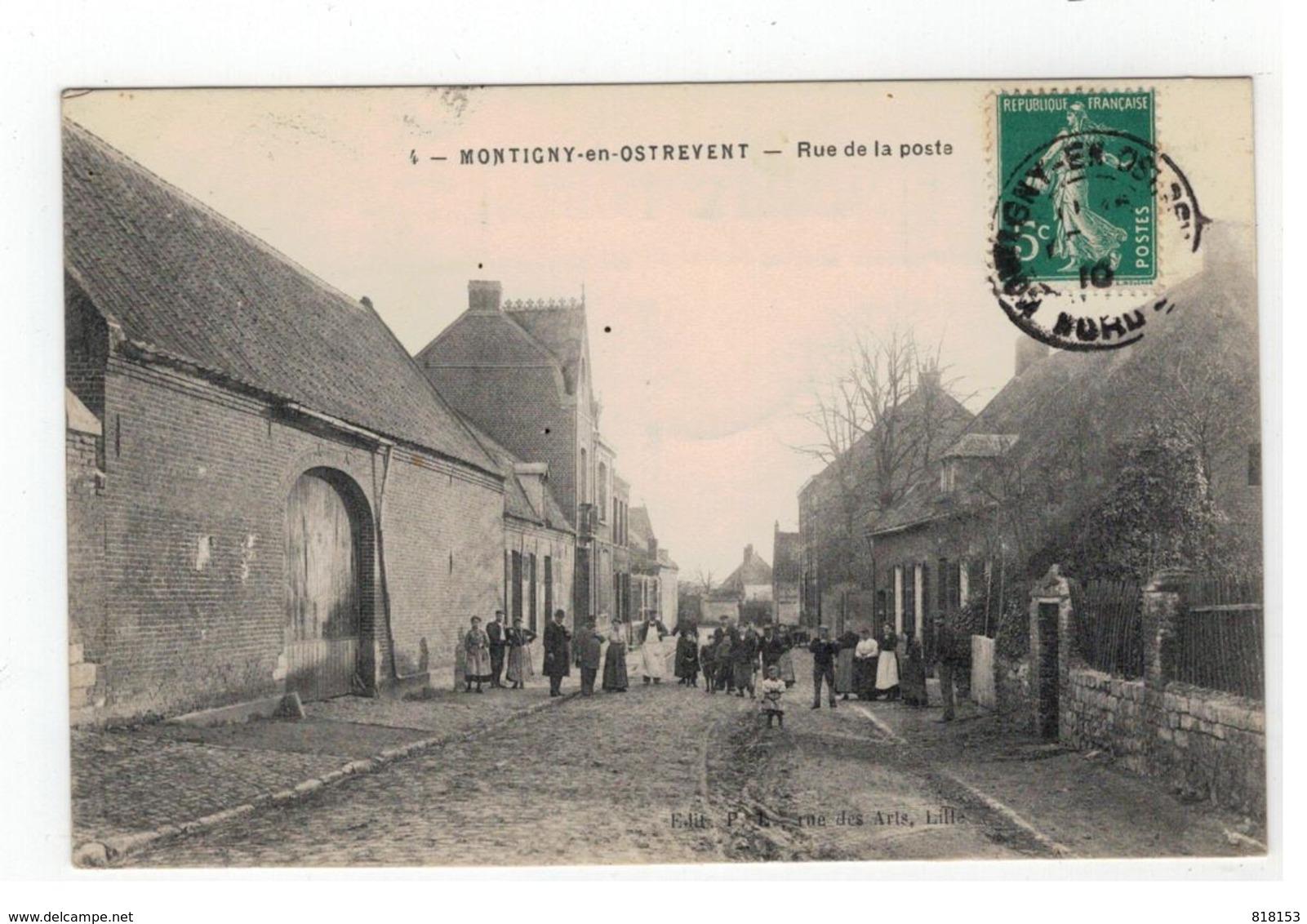 4 - MONTIGNY-en-OSTREVENT  -  Rue De La Poste - Autres Communes
