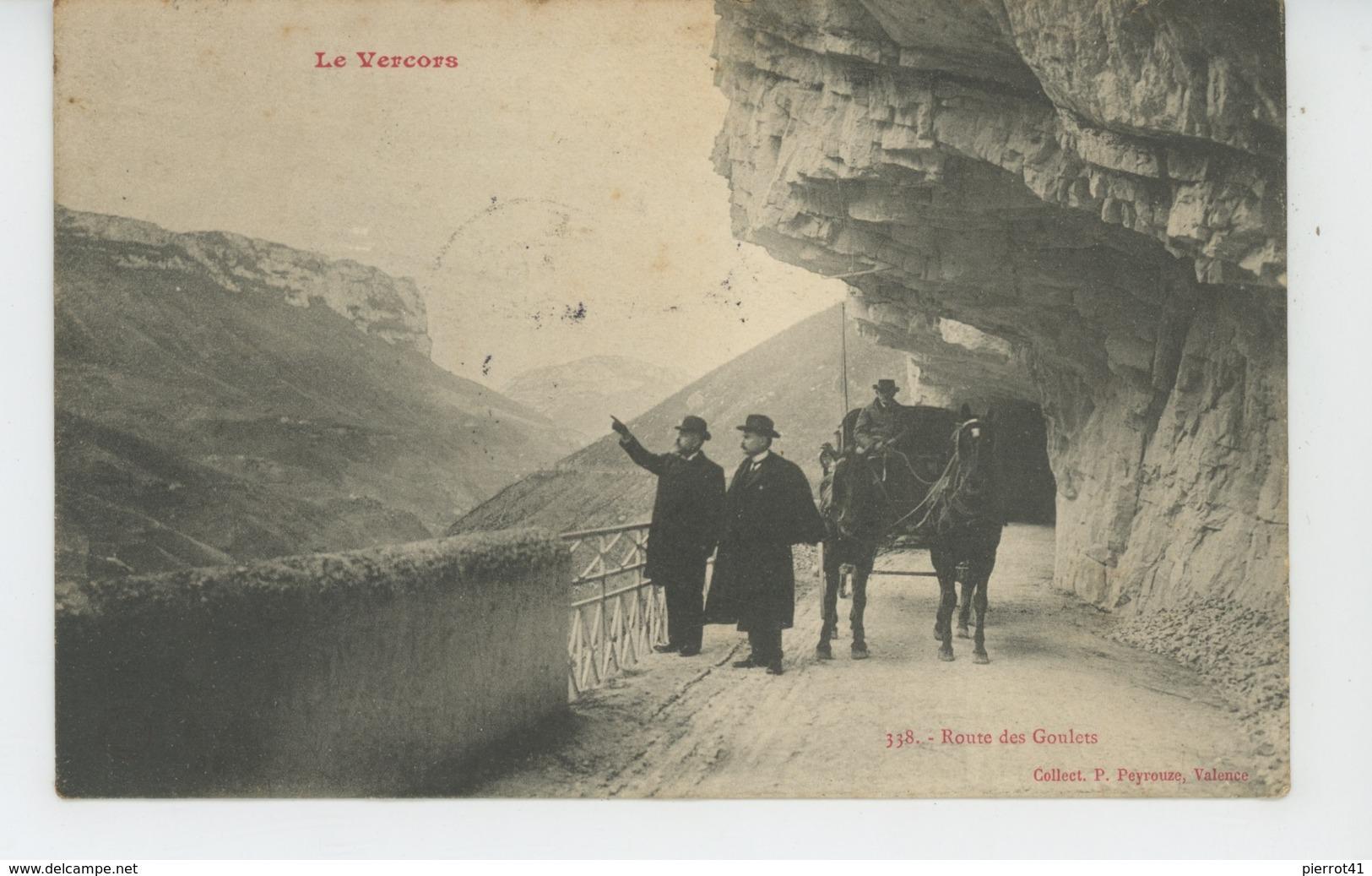 LE VERCORS - Route Des Goulets - Francia