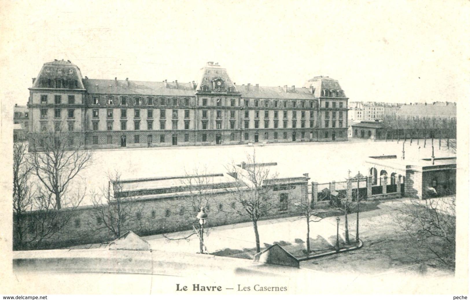 N°70271 -cpa Le Havre -Caserne Kléber- - Le Havre