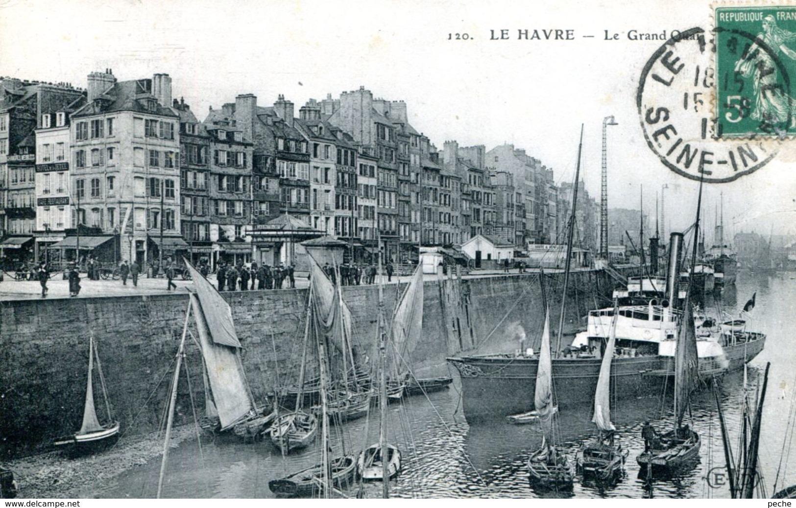 N°70272 -cpa Le Havre Le Grand Quai- - Port