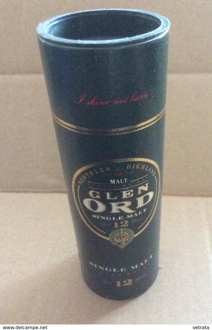 Boite Pour Bouteille Mignonnette : Glen Ord, Single Malt. (12 Cm) - Other Collections