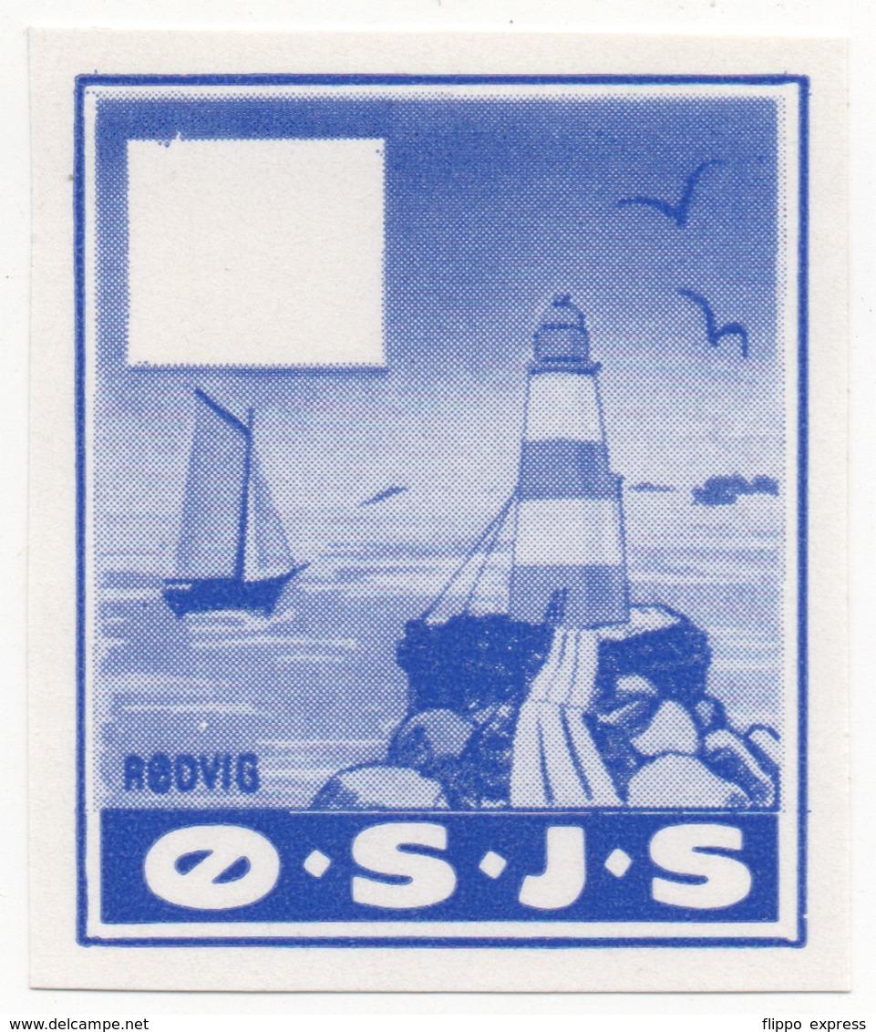 Denmark, Proof, O.S.J.S. Railway Parcel Stamp - Denemarken
