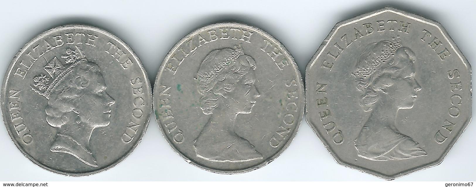 Hong Kong - Elizabeth II - 5 Dollars - 1981 (KM46) 1988 (KM56) 1993 (KM65) - Hong Kong