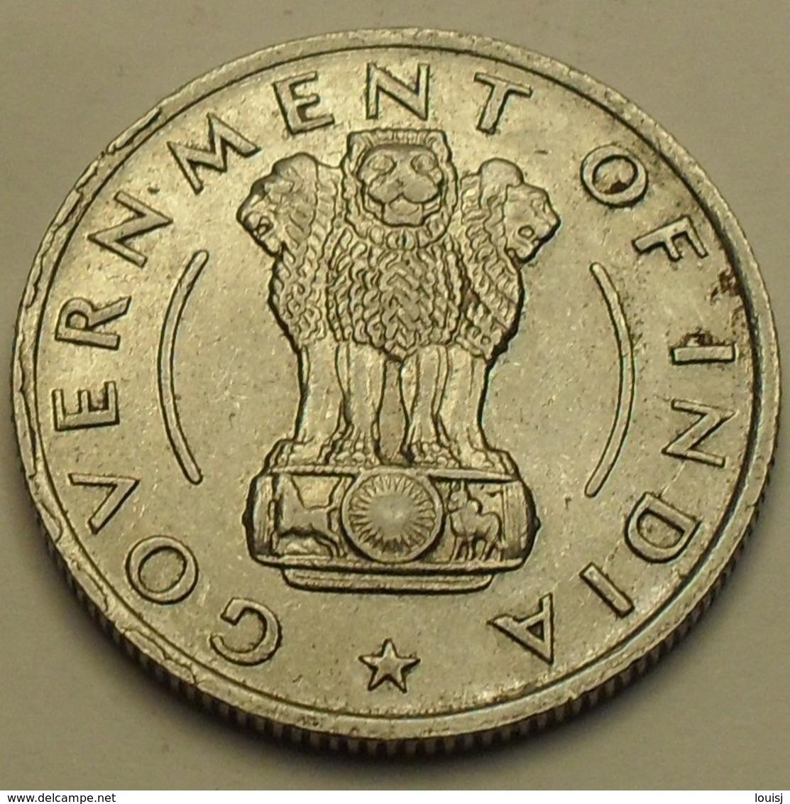 1956 - Inde République - India Republic - 1/2 RUPEE, Calcutta, KM 6.3 - Inde