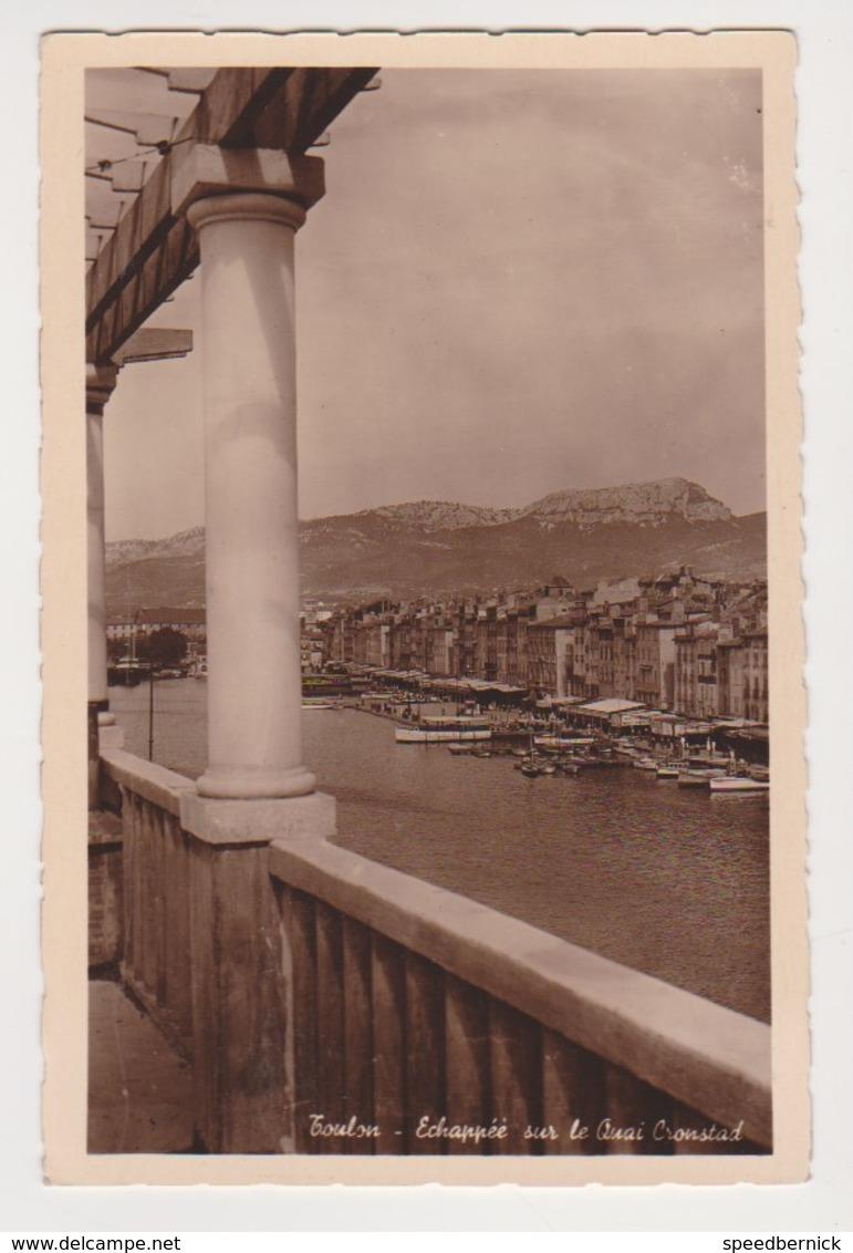 26880 Toulon échappée Sur Le Quai Cronstad -CIM Avant Guerre - Toulon