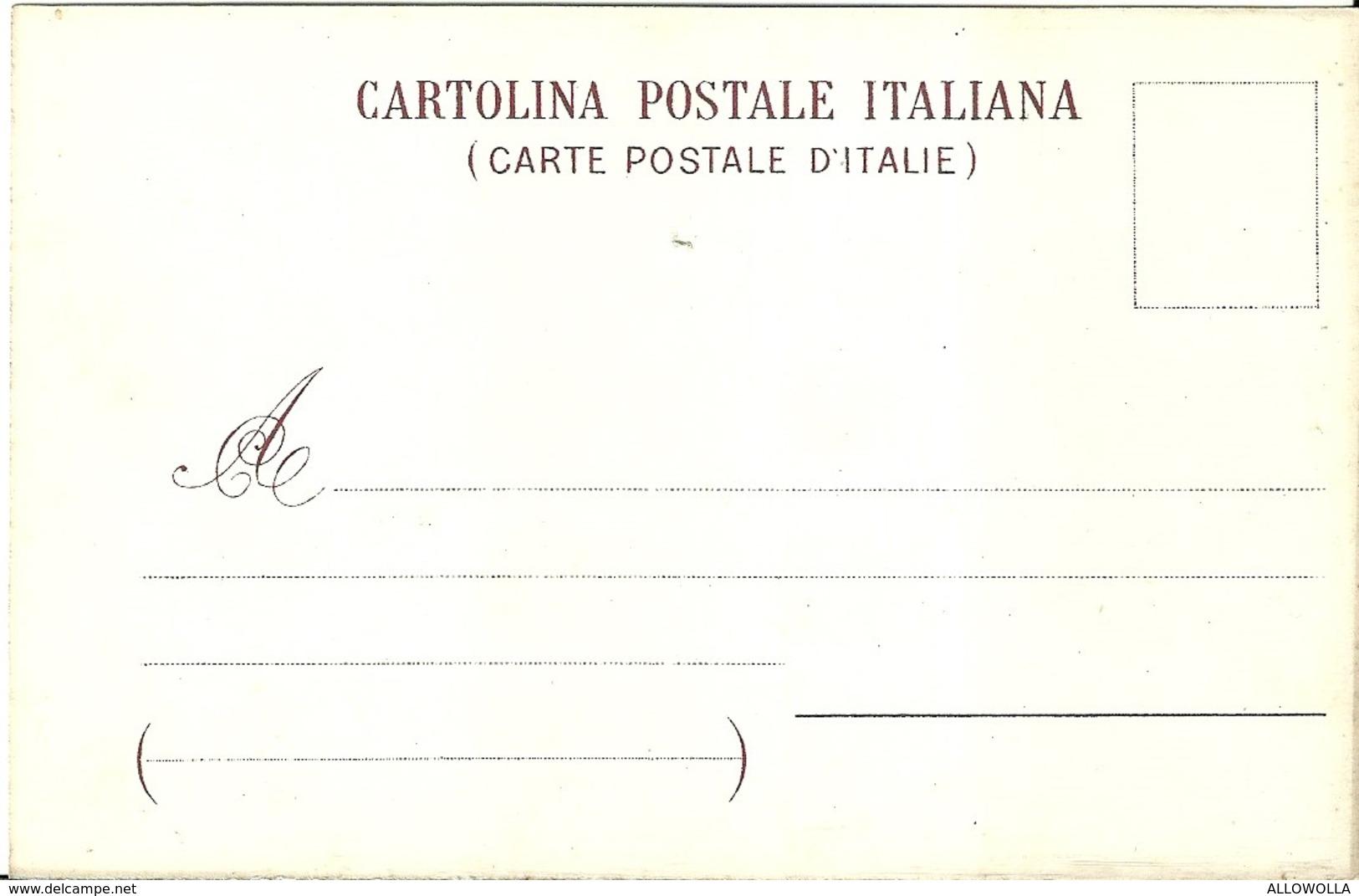 """2729 """" MEDAGLIERE NAZIONALE ITALIANO - ORDINI EQUESTRI """" CARTOLINA POSTALE ORIGINALE NON SPEDITA - Militaria"""