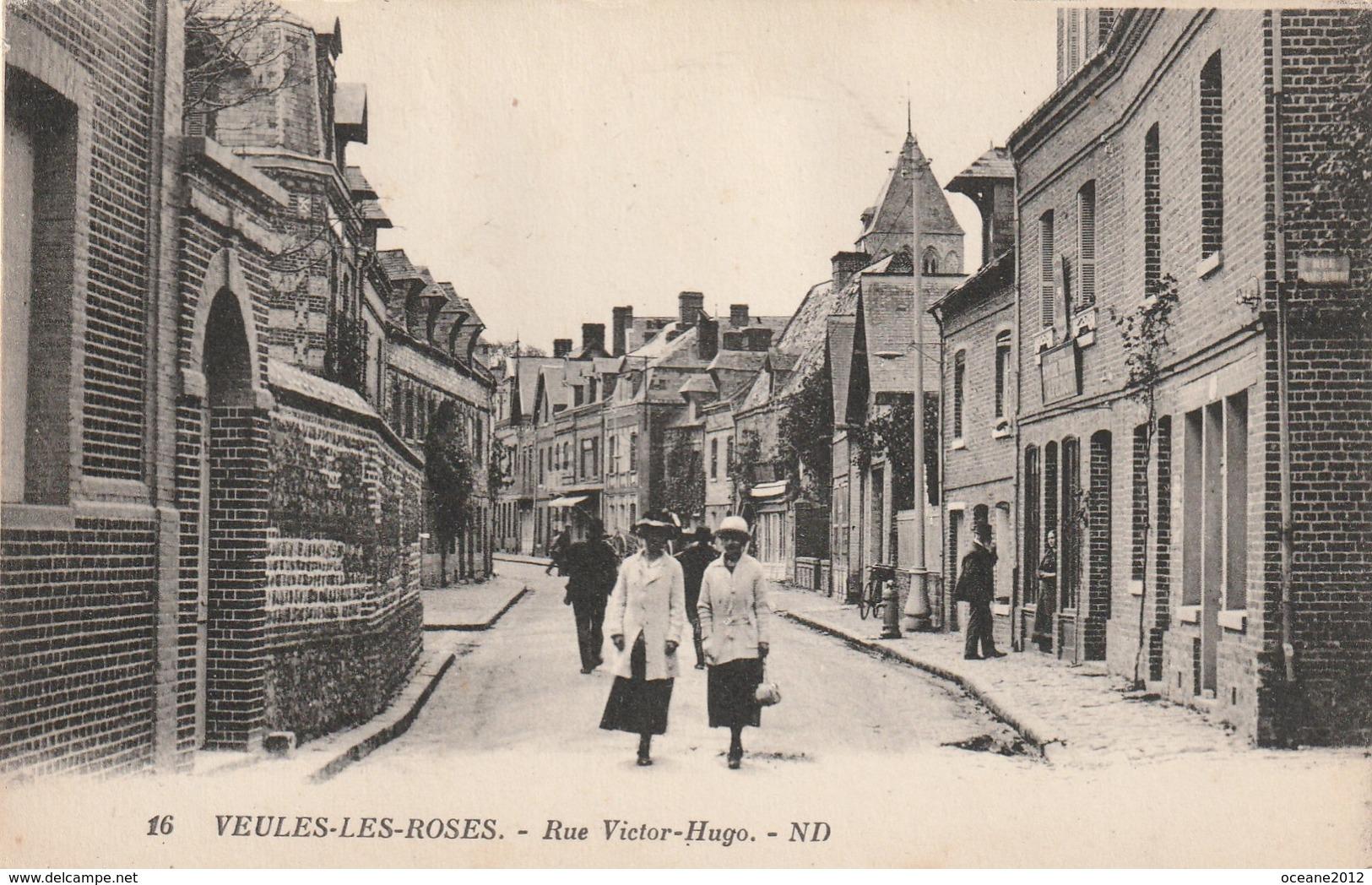 76 Veules Les Roses. Rue Victor Hugo - Veules Les Roses
