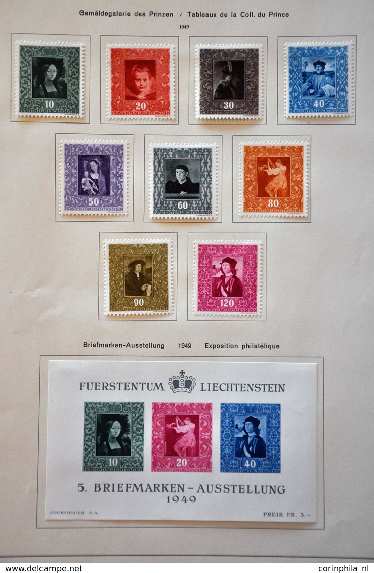 Liechtenstein - Briefmarken