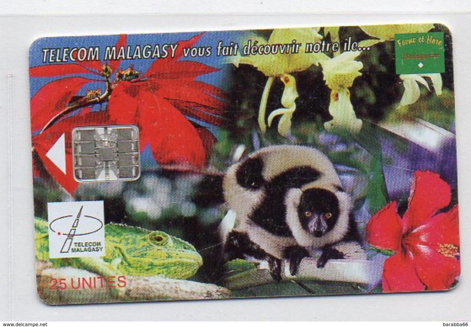 25 UNITES - TELECOM MALAGASY Vous Fait Decouvrir Notre Ile ... - Madagaskar