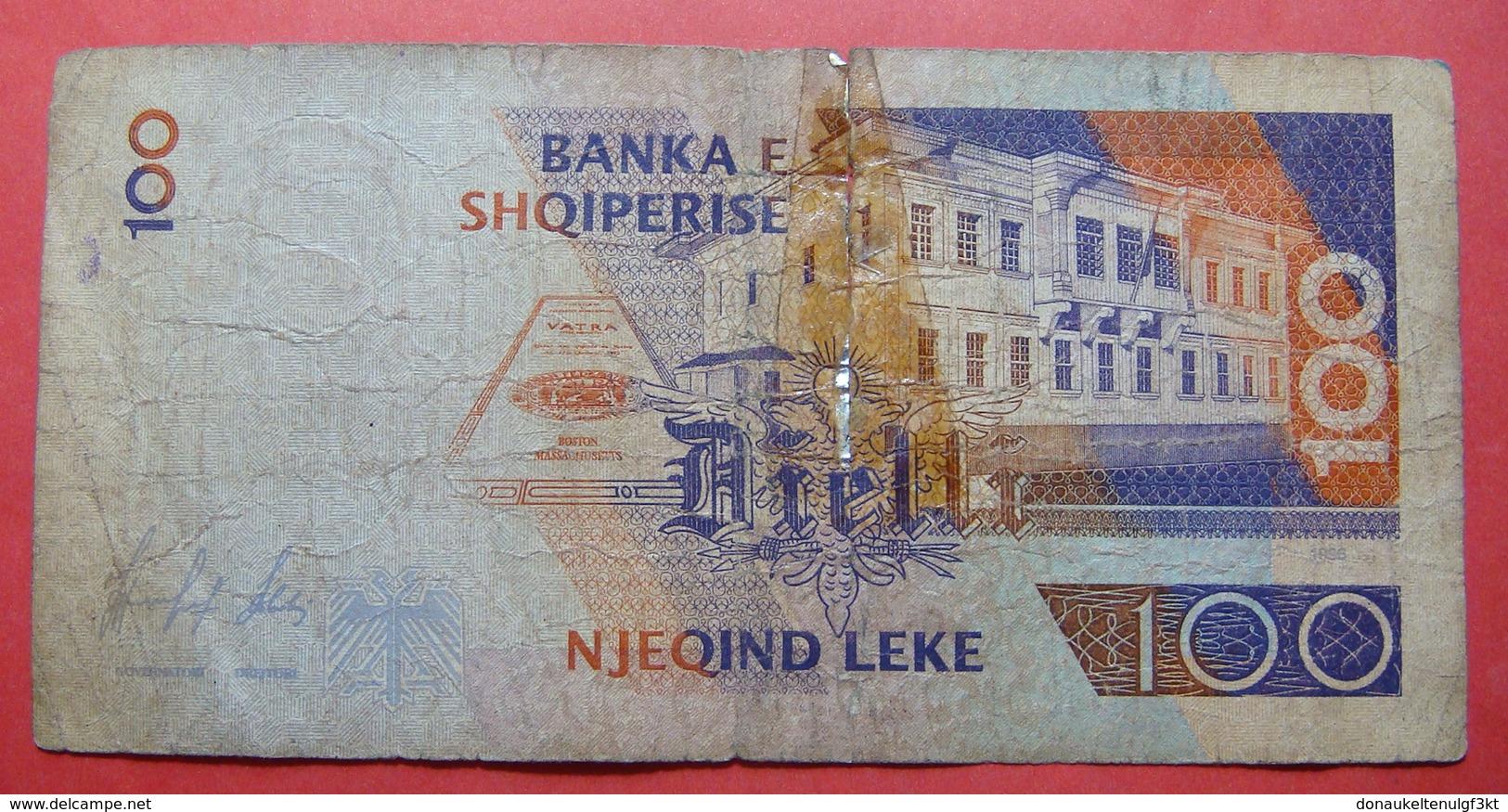 ALBANIA 100 LEKE 1996 KP 809490 - Albanie