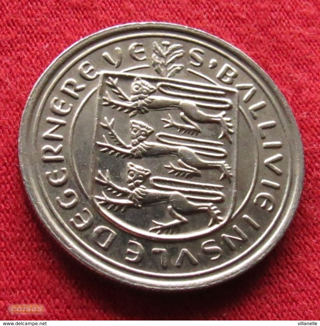 Guernsey 5 Pence 1977 KM# 29  Guernesey - Guernesey