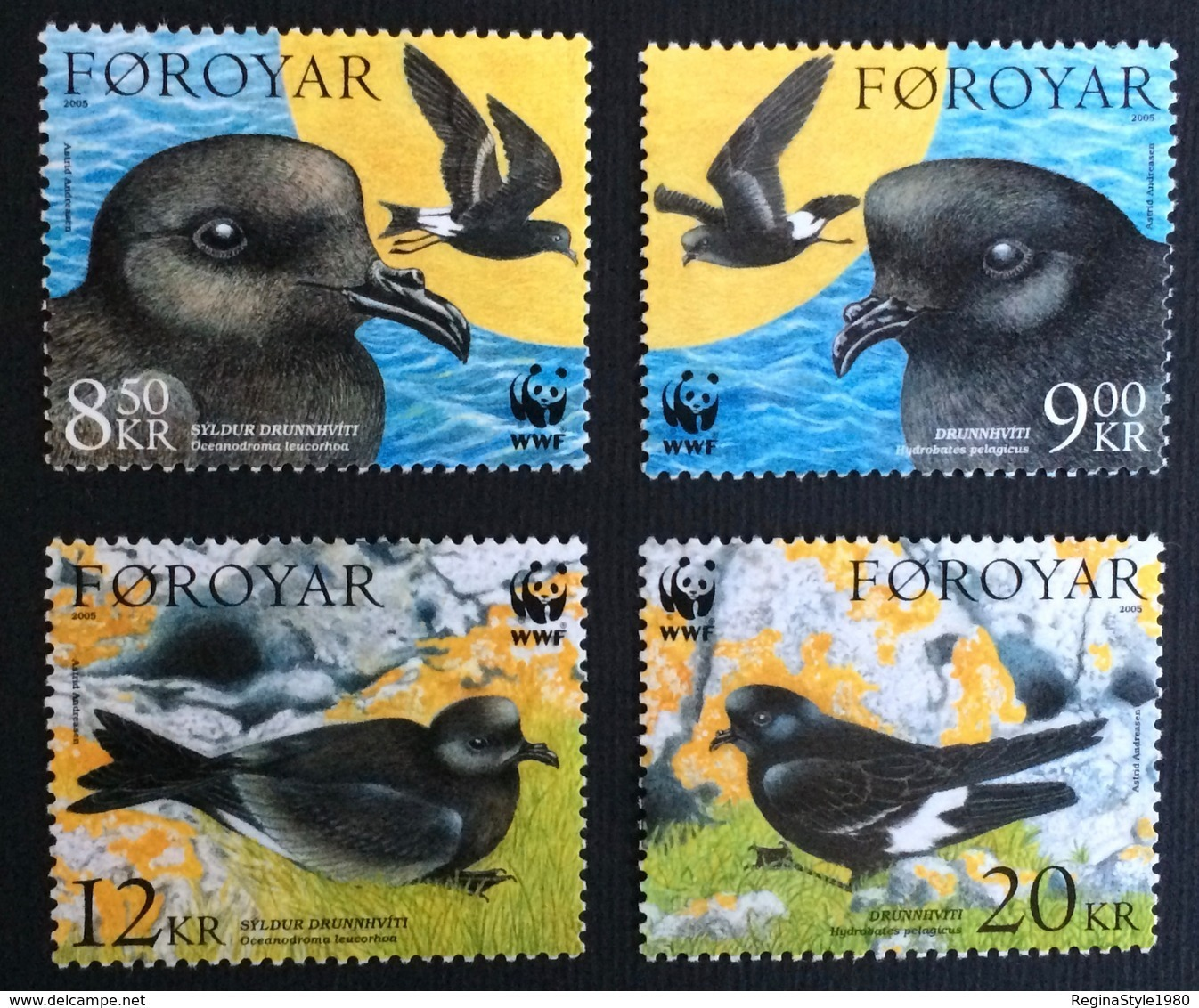 Faroe Islands 2005; WWF  Wild Animals, Fauna, Birds; MNH** VF; CV 22 Euro!! - W.W.F.