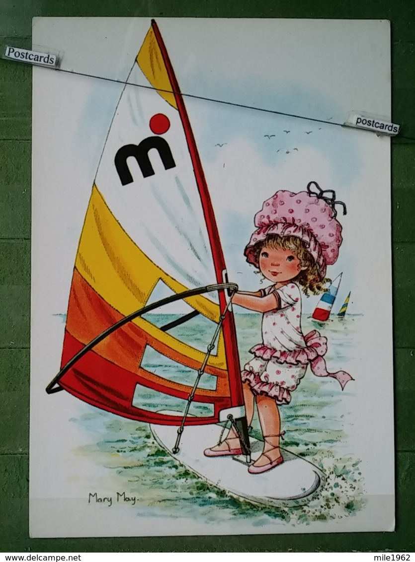 Kov 9-3 - Children, Enfant, Mary May Sailing - Enfants