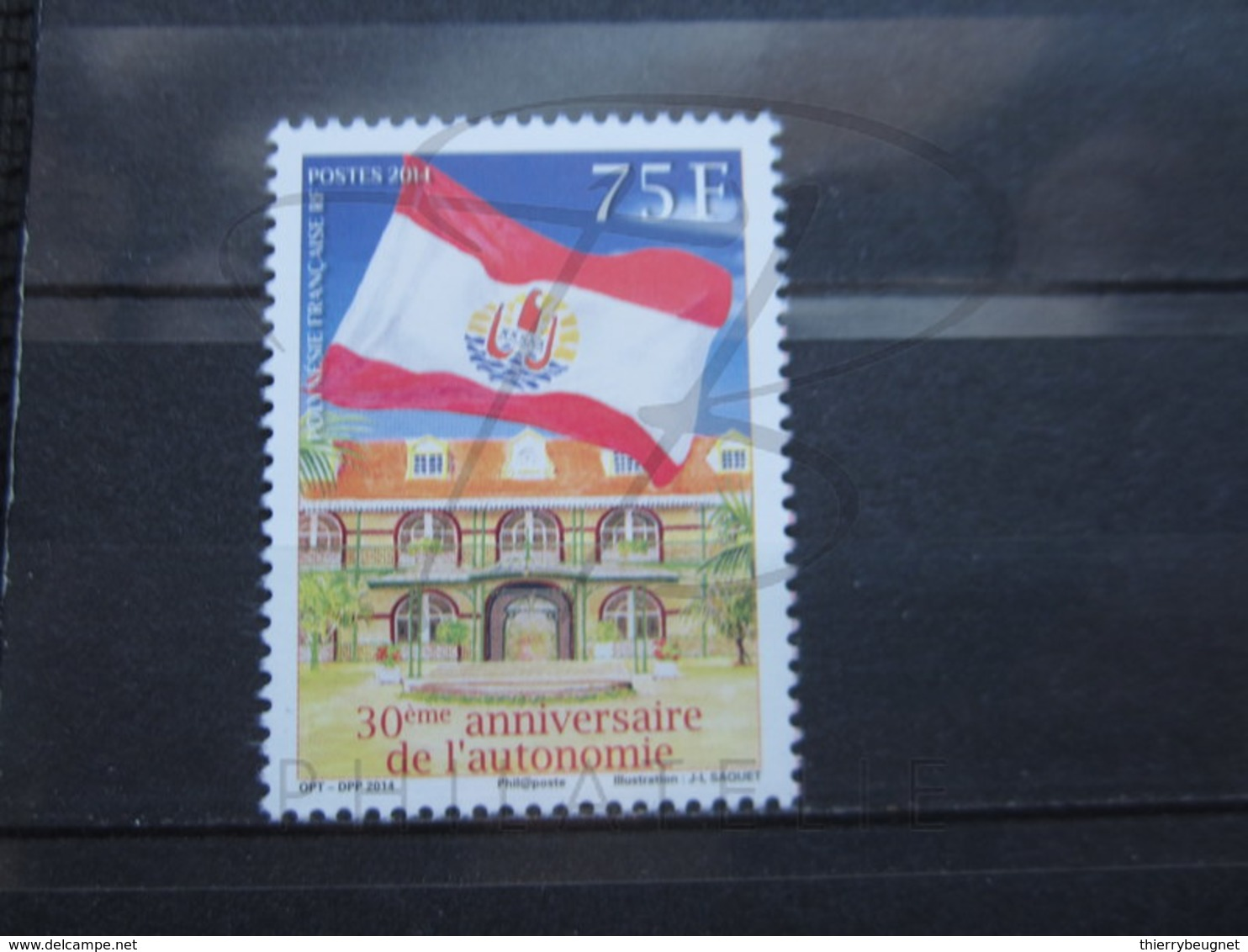 VEND BEAU TIMBRE DE POLYNESIE N° 1069 , XX !!! - Polynésie Française