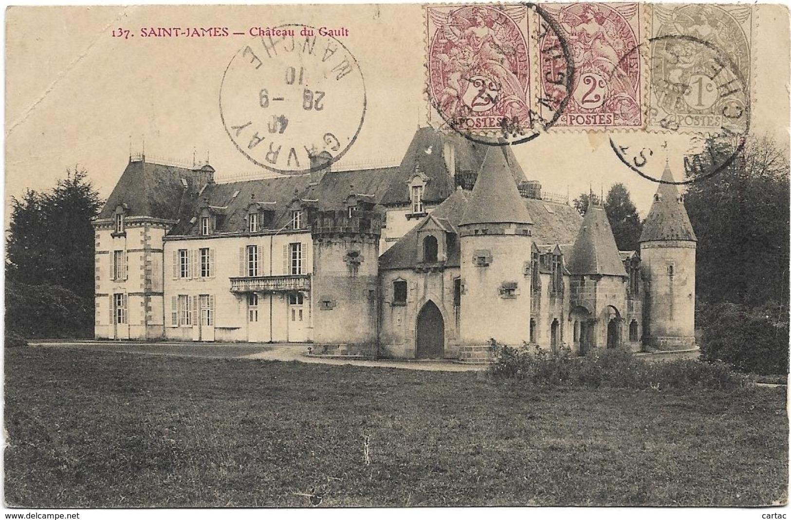 D50 - SAINT JAMES - CHÂTEAU DU GAULT - France