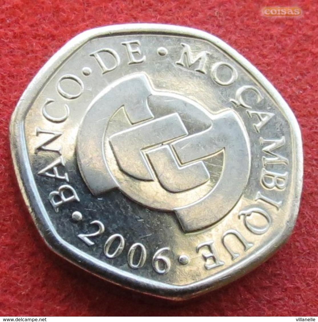 Mozambique 1 Metical 2006 UNC Moçambique Mozanbico - Mozambique