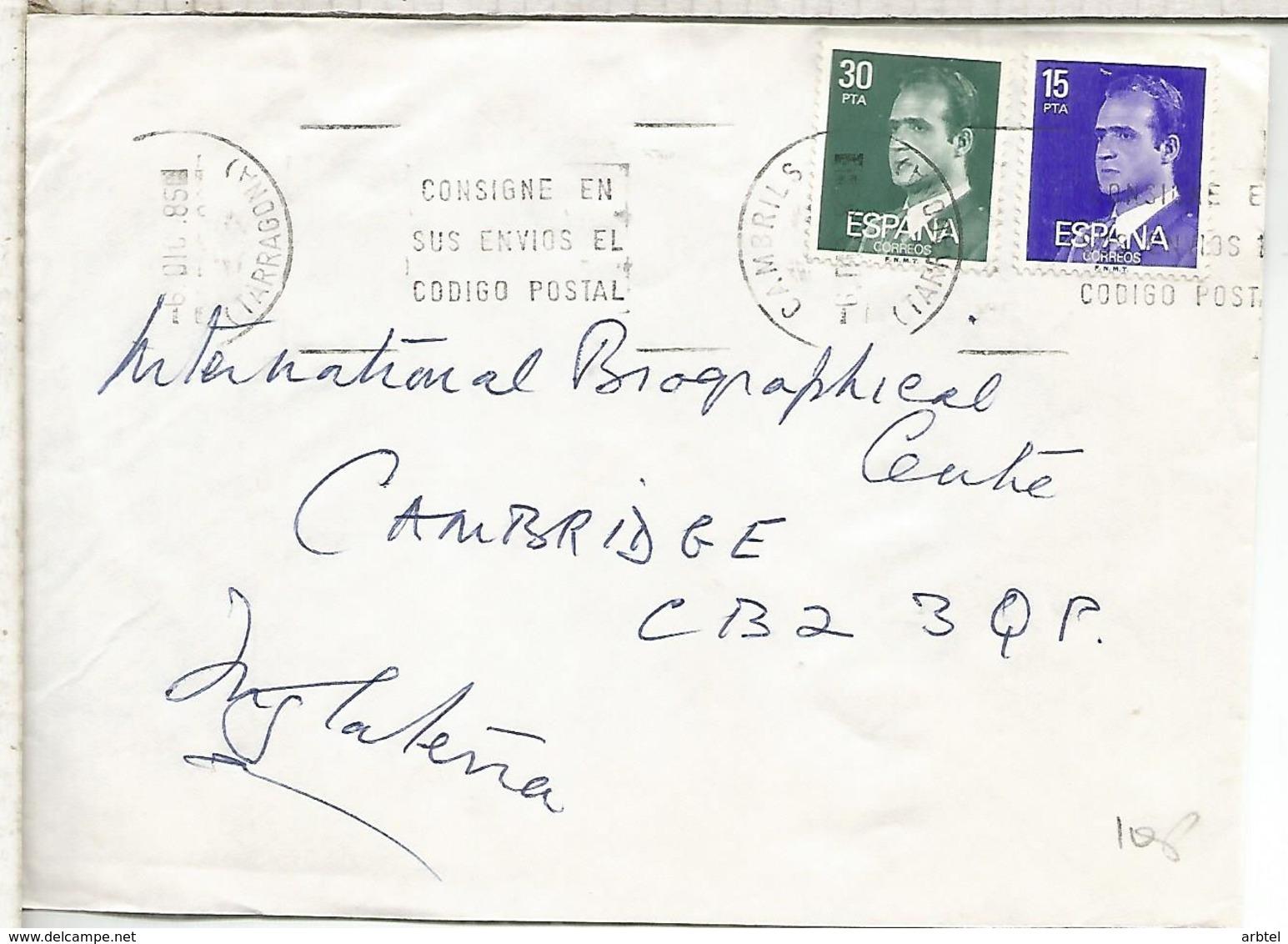 CAMBRILLS TARRAGONA CC SELLOS BASICA - 1931-Hoy: 2ª República - ... Juan Carlos I