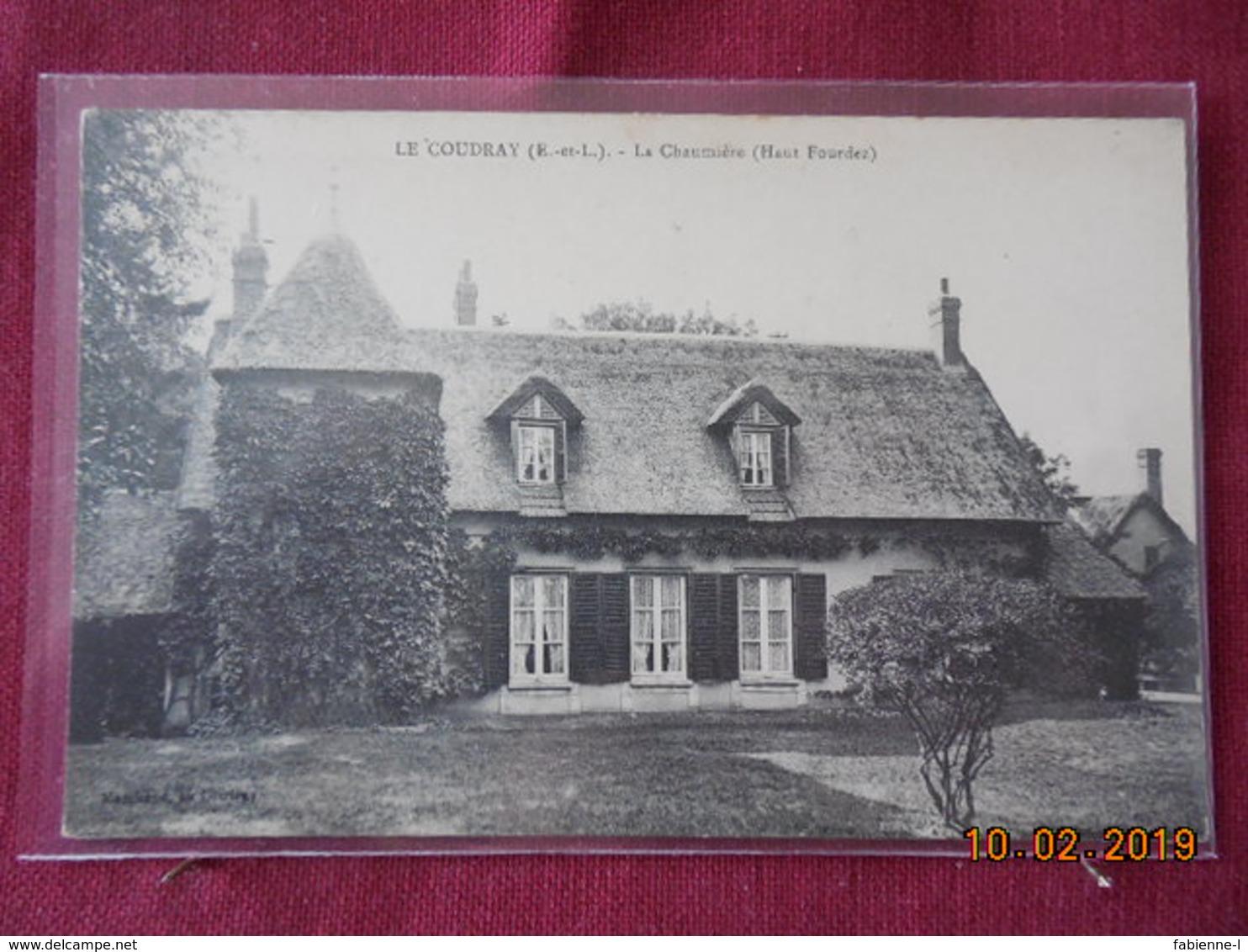 CPA -  Le Coudray - La Chaumière (Haut Fourdez) - Francia