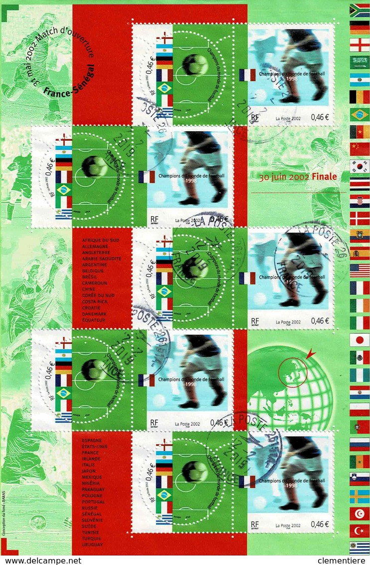 Bloc Feuillet N° 49 Coupe Du Monde 2002 - Blocks & Kleinbögen