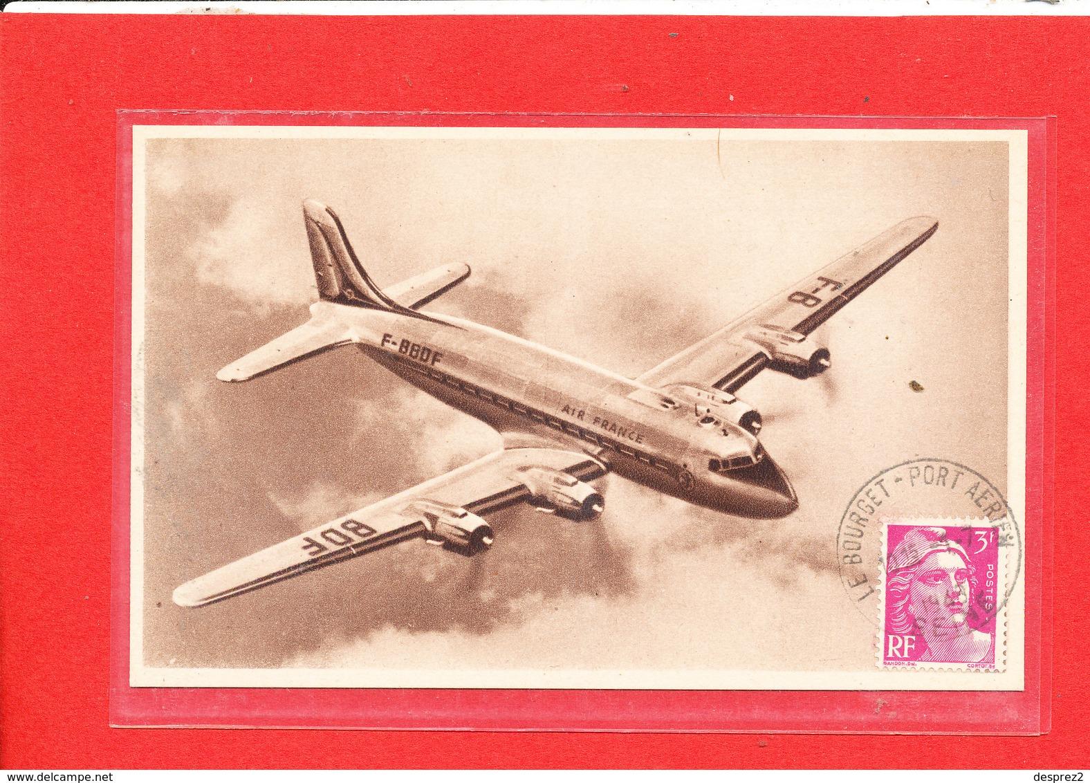 AVION Air France Douglas D C 4 - 1946-....: Ere Moderne