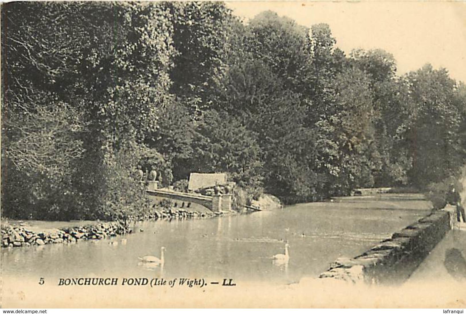 Pays Div- Ref R462- Royaume Uni -united Kingdom -uk - Isle Of Wight - Bonchurch Pond - - Angleterre
