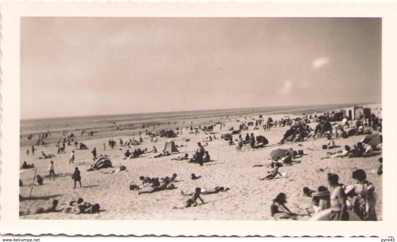 PHOTO DE LA PLADE DE STELLA PLAGE 15 X 9 CM 1964 - Lieux