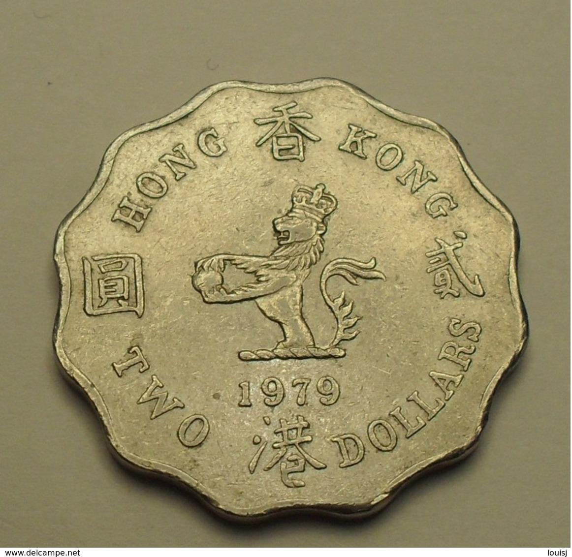 1979 - Hong Kong - TWO DOLLARS, Elizabeth II, KM 37 - Hong Kong
