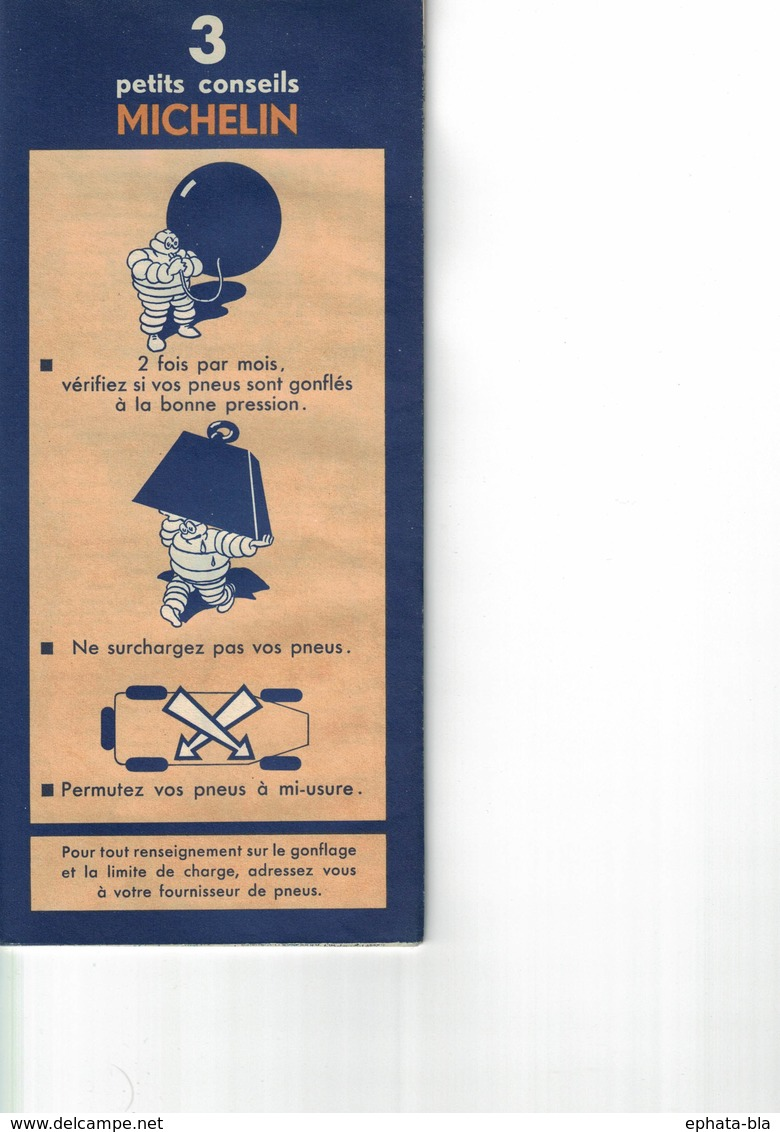 Lyon-Genève. Cartes Michelin. 1949. - Strassenkarten