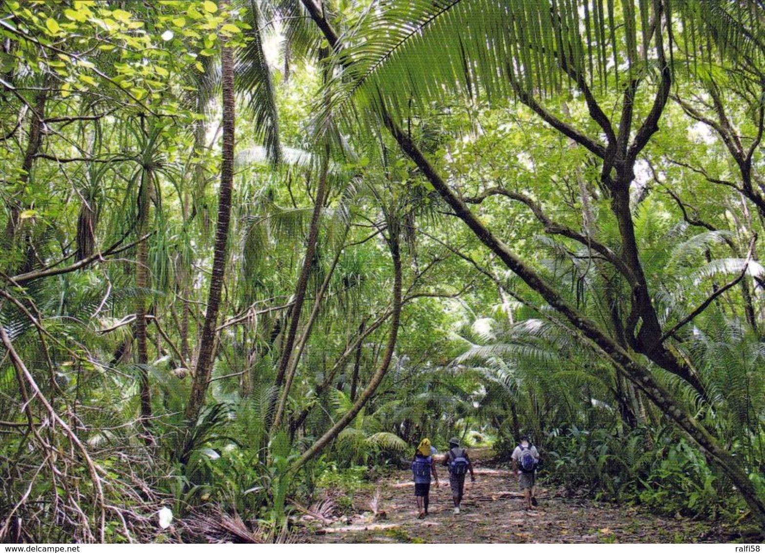 1 AK American Samoa * Ansicht Der Insel Swains * - Samoa Américaine